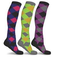 3-Pack DCF Patterned Compression Socks