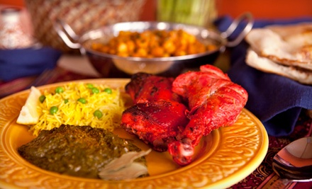 $20 for $40 Worth of Indian Cuisine and Drinks for Dinner at India's