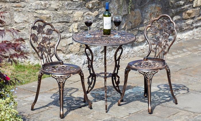 Three-Piece Outdoor Garden Furniture Set