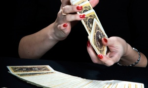 Between The Worlds LLC: One or Two-Hour Tarot Experience for Two or Four from Between the Worlds (Up to 70% Off)