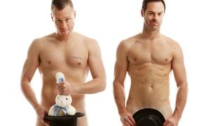 The Naked Magic Show:  The Naked Magic Show on May 12, at 8 p.m.