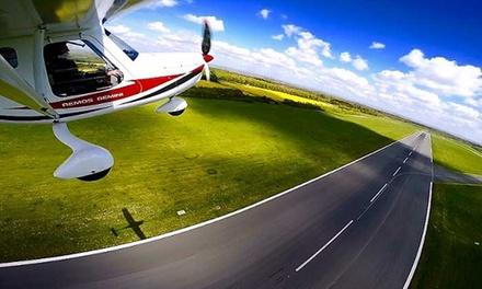 30 Min. oder 60 Min. Rundflug mit dem Ultraleichtflugzeug über der Stadt nach Wahl bei Skycooper (bis zu 68% sparen*)