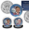 Donald Trump and Mike Pence US 2016 JFK Half-Dollar Coin Set (2-Pc.)
