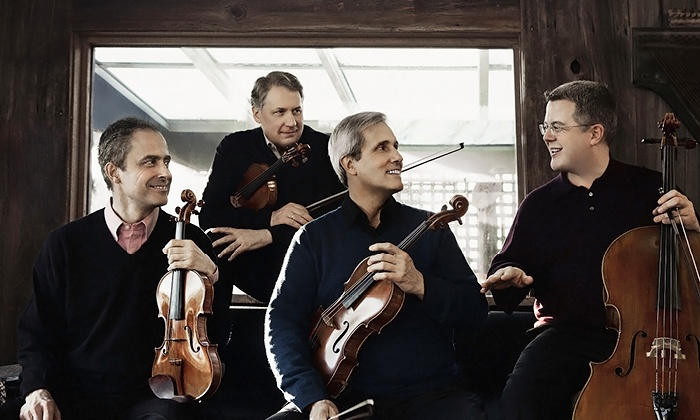 Chamber Music Society of Lincoln Center with Emerson String Quartet - Harris Theater for Music and Dance: Chamber Music Society of Lincoln Center with Emerson String Quartet on May 20 at 7:30 p.m. (Up to 50% Off)
