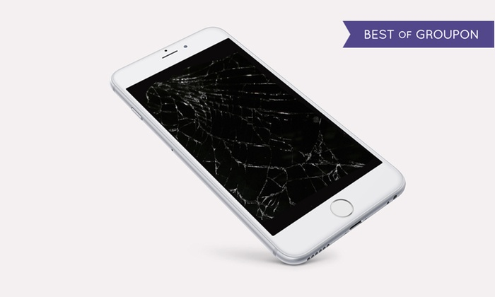 Easy Tech - Multiple Locations: Glass Screen Repair for iPhone, iPad, and Samsung Galaxy at Easy Tech (Up to 26% Off). Four Options Available.