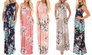 Women's Maxi Floral Dress