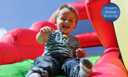 All-Day Bouncy Castle or Activity Hire for $99 or Both for $175 from Status Castles (Up to $550 Value)