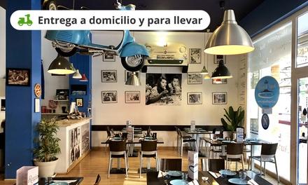 Menú para 2 o 4 con entrante, pizza, postre y bebida en Regina di Napoli (hasta 61% de descuento)