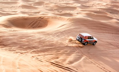 image for Desert Safari Experience for One, Two or Four with Luxury Tours (Up to 70% Off)