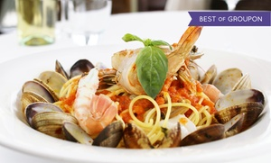 Tuscany Ristorante Italiano: Italian Food at Tuscany Ristorante Italiano (Up to 46% Off). Two Options Available.