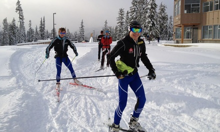 Nordic-Skiing Passes for Two or Four Adults at Ski Callaghan (50% Off)