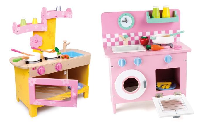 Cucine giocattolo in legno groupon