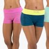 Form+Focus Women's Seamless Shorts (2-Pack)