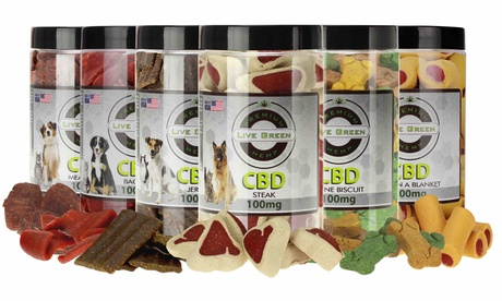 CBD Dog Treats by Live Green Hemp