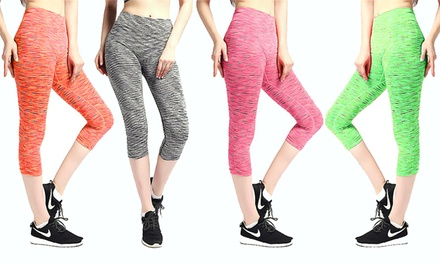 Space-Dye Workout Leggings from AED 59 (Up to 80% Off)