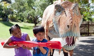 Santa Barbara Zoo: Santa Barbara Zoo Admission for Couple/Family with Train Rides, Climbing Wall, & Giraffe Feedings(Up to 33% Off)