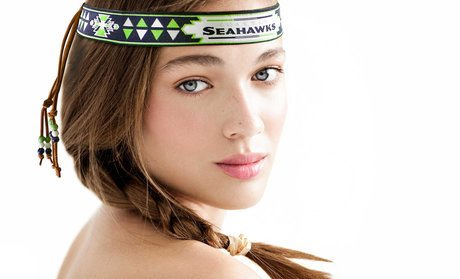 NFL Beaded Head Wrap