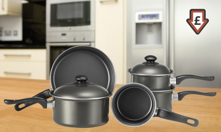 Five-Piece Non-Stick Pan Set