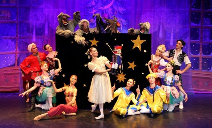 """Das Ballet  """"Der Nussknacker"""" vom Klassischen Russischen Ballett aus Moskau in 16 Städten(bis zu 64% sparen)"""