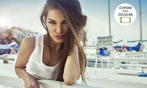 Lucia Claudia Cabeleireiros: Lucia Claudia Cabeleireiros – Centro: progressiva ou botox capilar + escova inteligente ou modeladora (opção com corte)