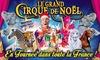 Le Grand Cirque de Noël - Plusieurs adresses: 1 place en tribune d'honneur pour assister à l'une des représentations du Grand Cirque de Noël dès 10 €
