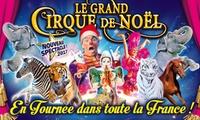 1 place en tribune dhonneur pour assister à lune des représentations du Grand Cirque de Noël dès 10 €