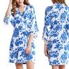 Pretty Bash Rosie Cotton Blend Robe l Plus Available