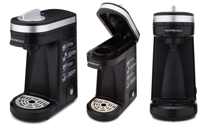Single Cup Coffee Maker For Keurig K Cups By Mixpresso : Mixpresso Coffee Maker Groupon Goods