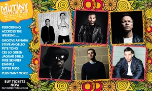 Mutiny Festival: Tickets to Mutiny Festival ft CeeLo Green and Steve Angello, Portsmouth, 28 - 29 May: From £25