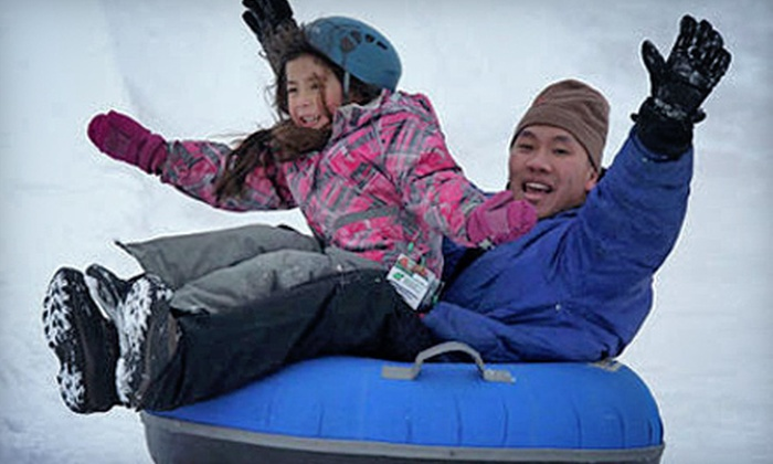 Adrenaline Adventures - Headingley: Snow Tubing for Two or an Individual Winter Season Pass at Adrenaline Adventures (Up to 51% Off)