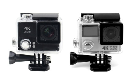 $59 for a 2016 4K Ultra HD Waterproof Action Camera or with Dual Screen ($89)