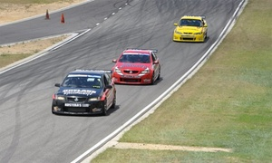 V8 Driveday: 3 Laps in the Backseat ($49), or 8 Laps as the Driver + 2 Laps as the Passenger ($485) at V8 Driveday (Up to $795 Value)