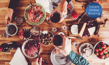 Eight-Course Tapas Banquet with Wine for Two ($44) or Four People ($55) at The Artel Lounge & Bar (Up to $110 Value)