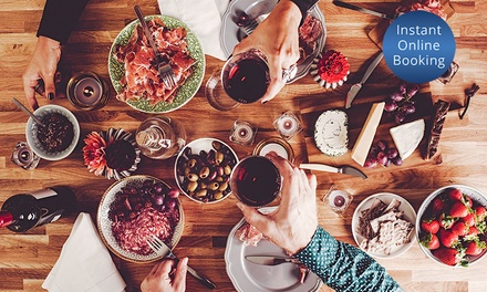 EightCourse Tapas Banquet with Wine for Two $44 or Four People $55 at The Artel Lounge & Bar Up to $110 Value
