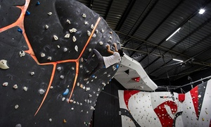 Rock Republic: Three Hours of Indoor Rock Climbing with Shoe Hire for Up to Four at Rock Republic (Up to 56% Off)