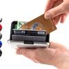 Porte carte RFID Alu
