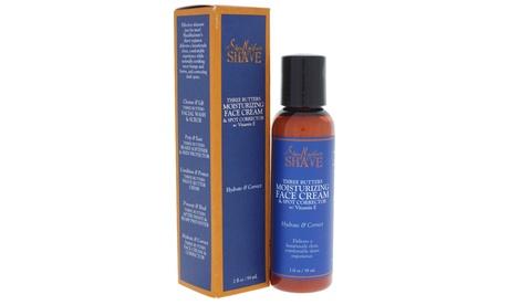 Shea Moisture Shave Three Butters Moisturizing Face Cream and Spot Corrector (2 Fl. Oz.)
