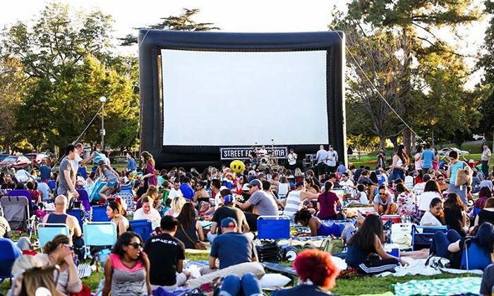 Street Food Cinema - Multiple Locations: Two or Four Admissions or One or Two Season Passes at Street Food Cinema (Up to 56% Off)