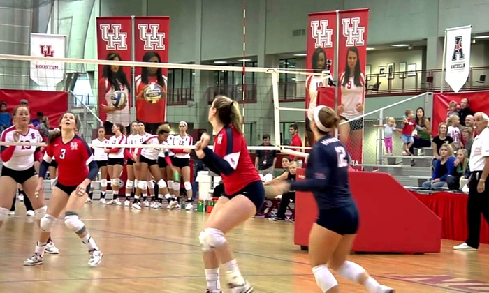 Houston Volleyball Camps - Houston University - Alumni Center : Two- or Four-Day Overnight or Day Volleyball Camps at University of Houston Volleyball (Up to 36% Off).