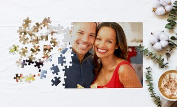 Up to 93% Off Custom 11x8'' Photo Puzzles from Printerpix