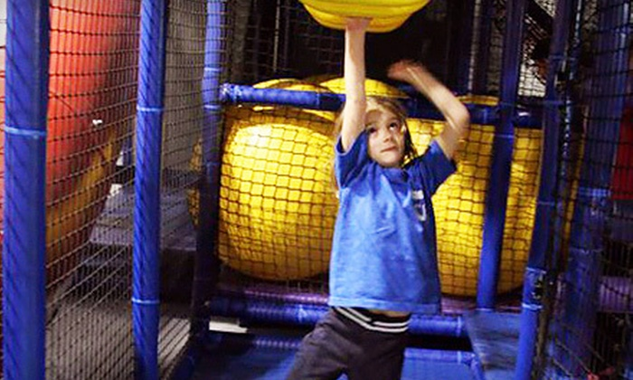 Kids U - Multiple Locations: One Day of Summer Olympics Camp or Five Visits to Indoor Playground at Kids U (Half Off)