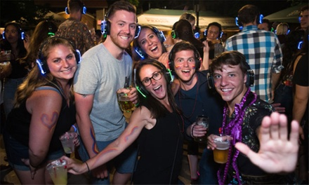 Silent Disco Beer Garden Party (May 17–August 16)