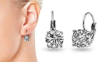 One or Two Pairs of Phillip Jones Callisto Earrings with Crystals from Swarovski®
