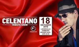 """BA Management GmbH: Ticket für die """"Celentano Tribute Show"""" mit Maurizio Schweizer am Dienstag, den 18.10.2016 mit 50%, 40% oder 33% Rabatt"""