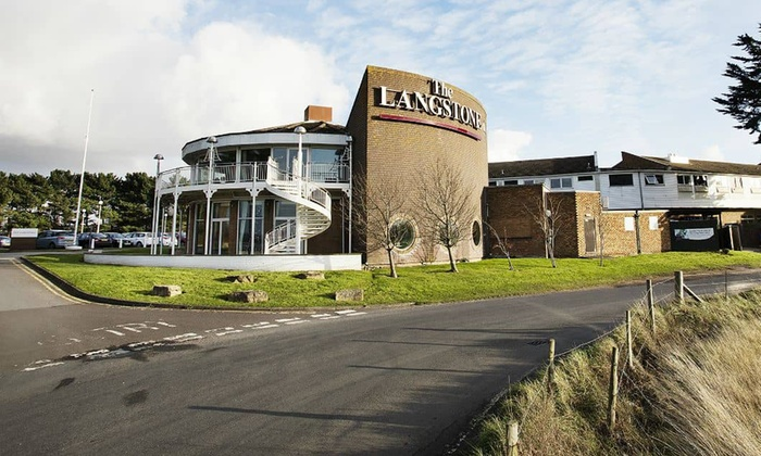 The Langstone - Portsmouth: Hayling Island: 1 to 3 Nights for Two with Breakfast and Leisure Access at 4* The Langstone