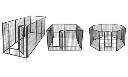 Gabbia in ferro per animali domestici disponibile in 4 modelli