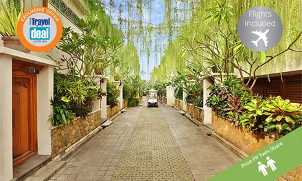 Bali, Seminyak: Per Person for a SixNight Pool Villa Stay with Breakfast and Massage at 4* Villa Kayu Raja