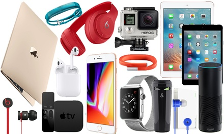 Mystery Accessory Giftbox with a Chance to Receive Vibe Kitsound Earphones, Apple Airpods or iPhone 8
