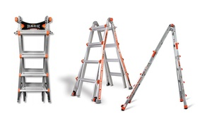 Little Giant 22 Ladder Or 17 Ladder W Free Wall Rack