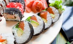 Okami Sushi: Japońskie specjały: zupa oraz 6 kawałków sushi dla 2 osób za 64,99 zł i więcej w Okami Sushi (do -38%)
